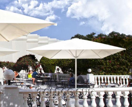 Mosquiteras y sombrillas parasol for Sombrillas terraza