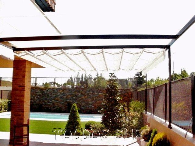 Ampliar for Rieles para toldos de techo
