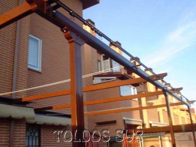 Techos de lona para patios modern patio outdoor for Toldos para comercios