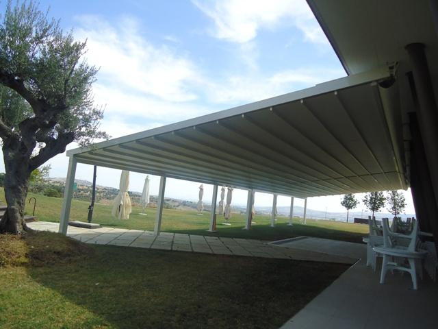 pergolas en aluminio para terraza pergolas de aluminio lacado lona pvc