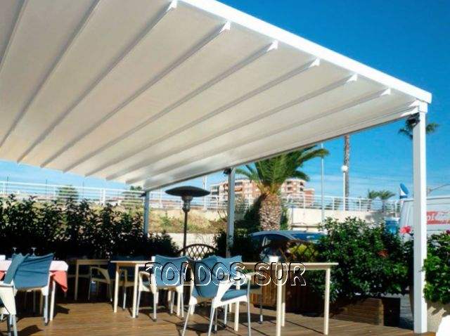 Lonas para terrazas toldos para claraboyas y lucernarios - Toldos impermeables para terrazas ...