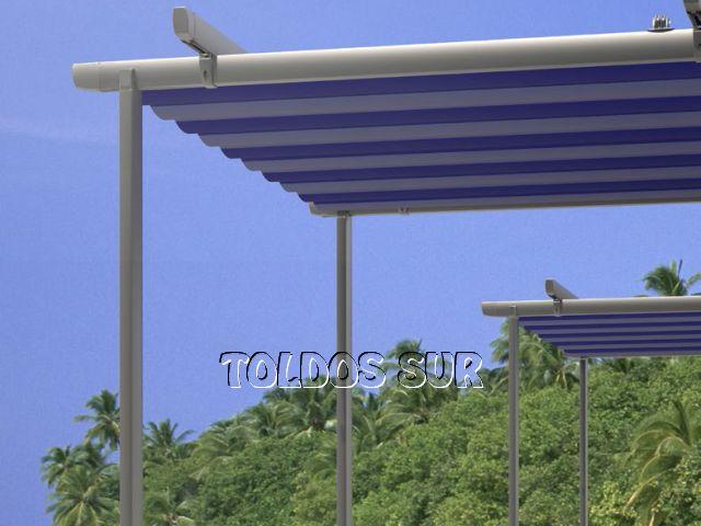 Perfiles aluminio para toldos pergola de aluminio lacado for Perfiles para toldos correderos