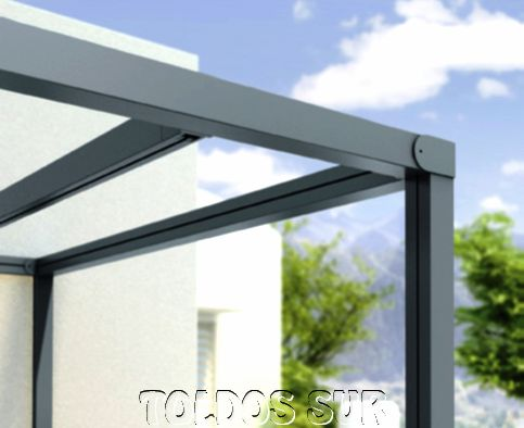 Venta de perfiles de aluminio para pergolas materiales for Tubos de aluminio para toldos