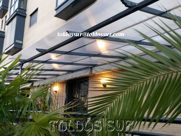 techos y cubiertas de policarbonato para prgolas - Techos Para Pergolas