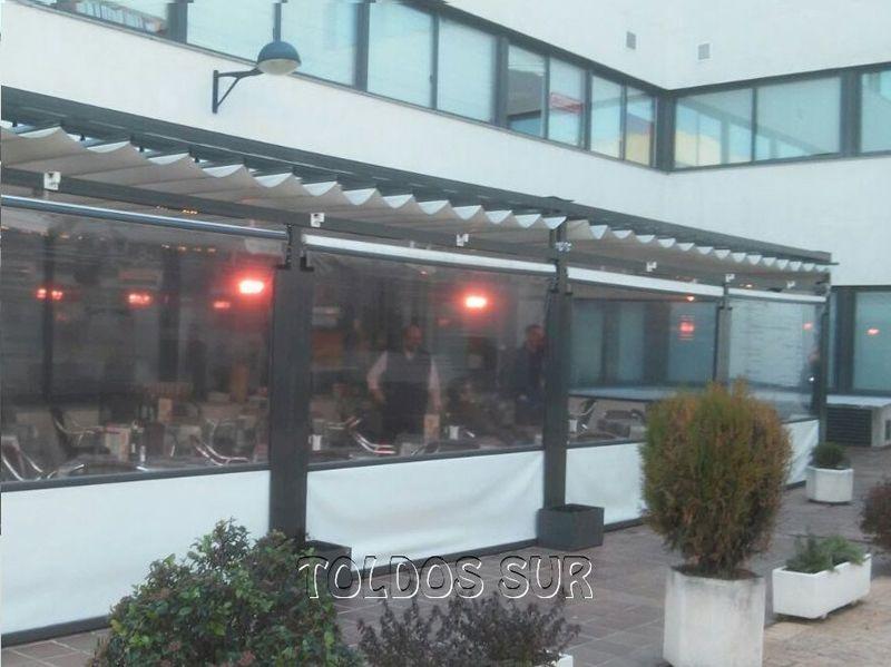 Lonas para pergolas best prgolas enviadas con toldo with - Lona para terraza ...