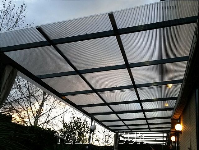 Ampliar for Materiales para toldos de aluminio